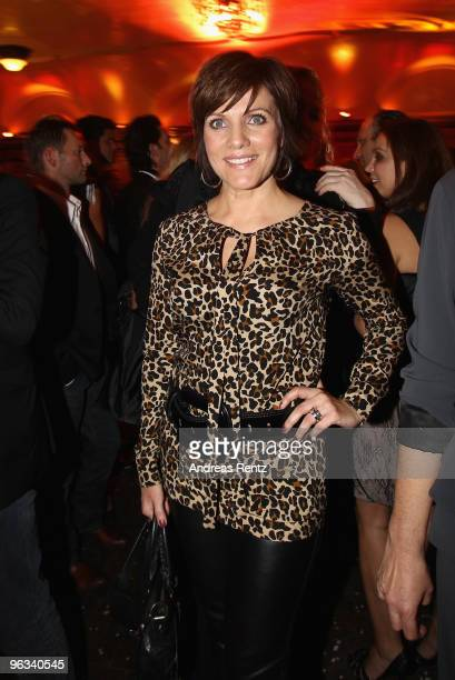 Birgit Schrowange attends the Lambertz Monday Night Schoko Fashion party at the Alten Wartesaal on February 1 2010 in Cologne Germany