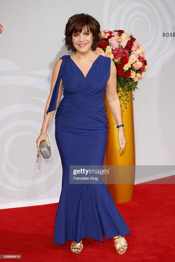 <a gi-track='captionPersonalityLinkClicked' href=/galleries/search?phrase=Birgit+Schrowange&family=editorial&specificpeople=2080191 ng-click='$event.stopPropagation()'>Birgit Schrowange</a> attends the Rosenball 2016 on April 30 in Berlin, Germany.