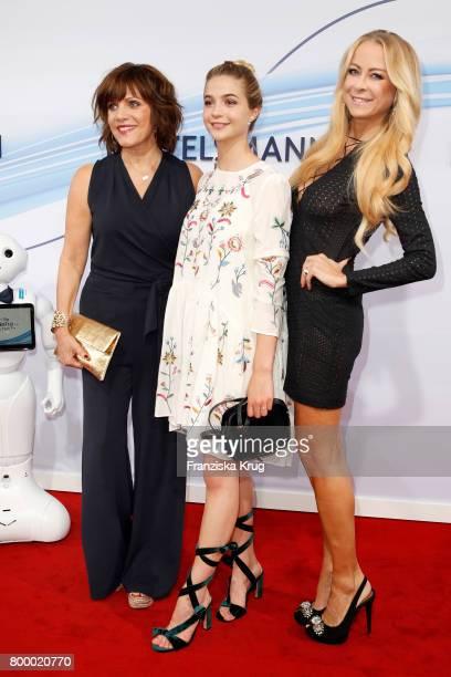 Birgit Schrowange LisaMarie Koroll and Jenny Elvers attend the 'Bertelsmann Summer Party' at Bertelsmann Repraesentanz on June 22 2017 in Berlin...