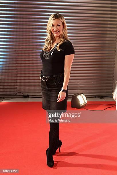 Birgit von Bentzel attends the 'RTL Spendenmarathon' at RTL Studios on November 23 2012 in Cologne Germany