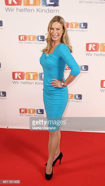 Birgit von Bentzel attends the RTL Telethon 2013 on November 21 2013 in Cologne Germany