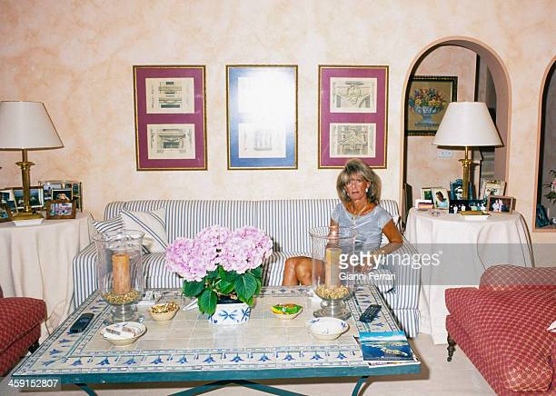 Birgitta of Sweden in her villa in Santa Ponsa 17th May 1999 Palma de Mallorca Balearic Islands Spain