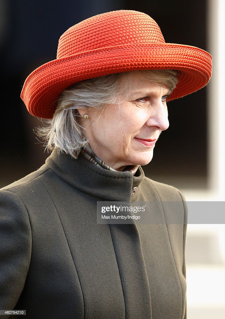 <a gi-track='captionPersonalityLinkClicked' href=/galleries/search?phrase=Birgitte+-+Duchess+of+Gloucester&family=editorial&specificpeople=4152242 ng-click='$event.stopPropagation()'>Birgitte</a>, Duchess of Gloucester attends a service of thanksgiving for the life of John Spencer-Churchill, 11th Duke of Marlborough at The Guards Chapel, Wellington Barracks on February 4, 2015 in London, England. John Spencer-Churchill, 11th Duke of Marlborough died aged 88 on October 16, 2014.