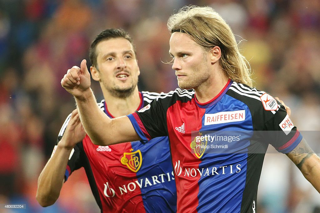 Basel v Lech - UEFA Champions League: Third Qualifying Round 2nd Leg