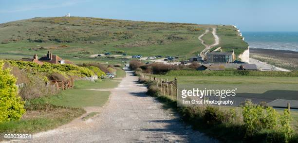 Birling Gap and Belle Tout Lighthouse, East Sussex