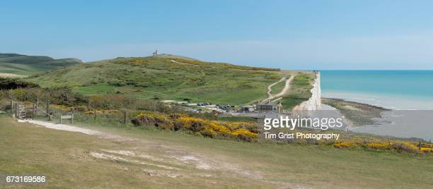 Birling Gap and Belle Tout Panorama