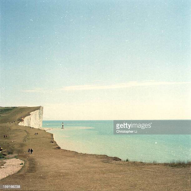 Birling Gap Lighthouse and White Cliffs