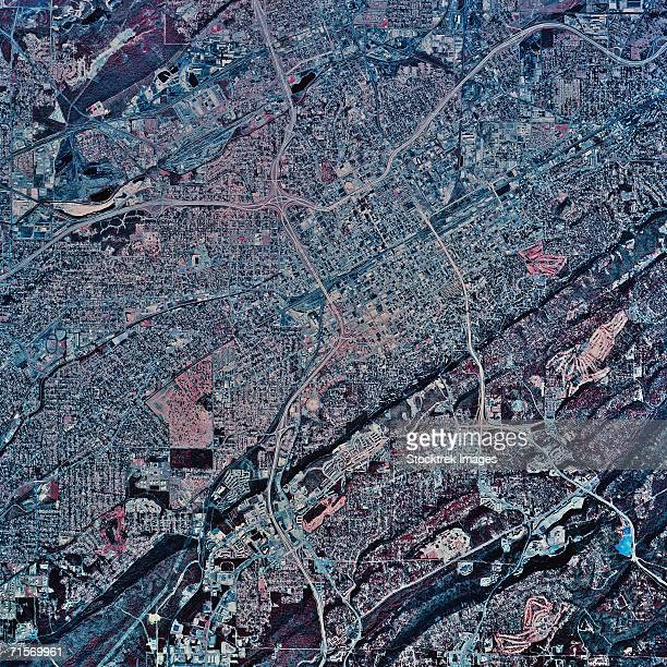 'Birmingham, Alabama, satellite image'
