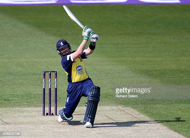 Birmingham Bears Ian Bell in action during the NatWest T20 Blast between Durham Jets and Birmingham Bears at Emirates Durham ICG on June 06 2015 in...
