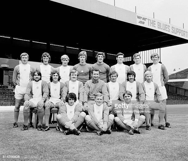 Birmingham City Football Team 23rd July 1971 Back row Garry Pendrey Phil Summerill Keith Bowker Mike Kelly Dave Latchford Roger Hynd Bobby Thomson...