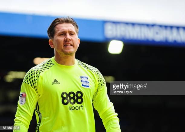 Birmingham City Goalkeeper Tomasz Kuszczak during the Sky Bet Championship match between Birmingham City and Newcastle United at St Andrews stadium...