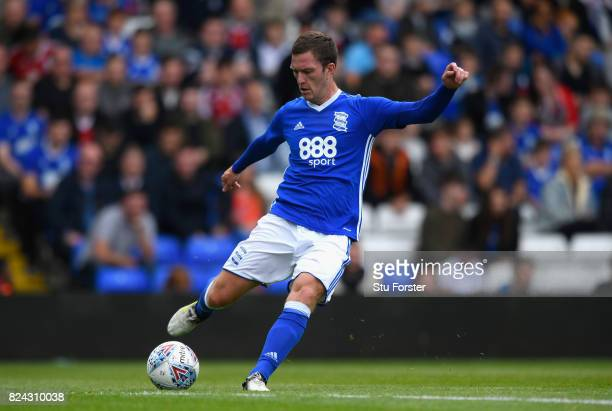 Birmingham City player Craig Gardner in action during the Pre Season Friendly match between Birmingham City and Swansea City at St Andrews on July 29...