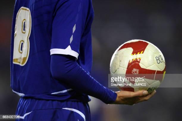 Birmingham City's Ashley Sammons holds the matchball