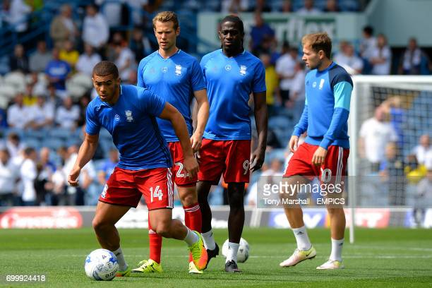 Birmingham City's Che Adams during the warm up