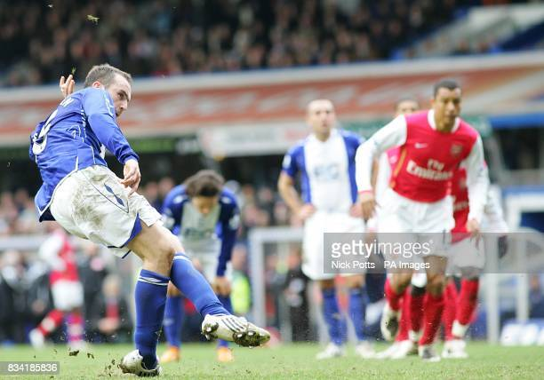 Birmingham City's James McFadden scores from the penalty spot to score the equalizer