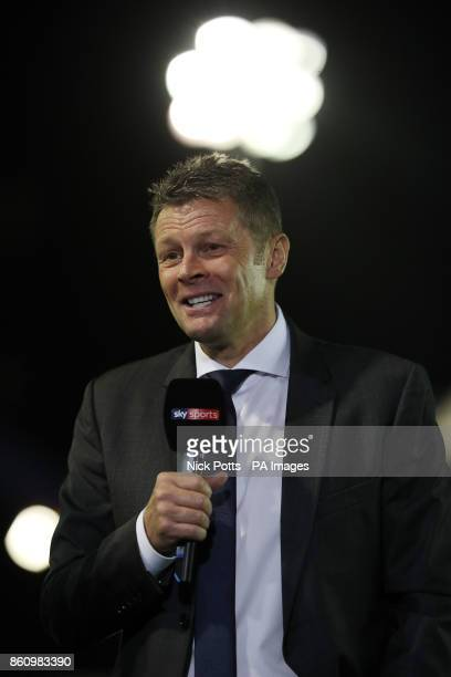 Birmingham City's manager Steve Cotterill is interviewed before the Sky Bet Championship match St Andrews Birmingham