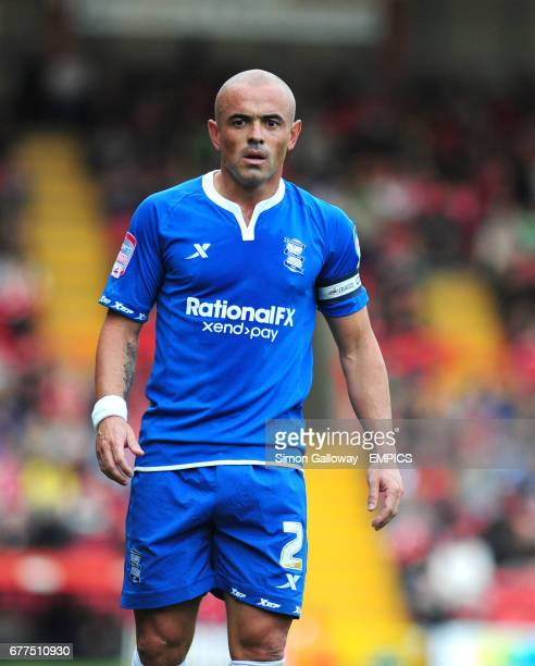 Birmingham City's Stephen Carr in action during their Npower Championship game at Ashton Gate
