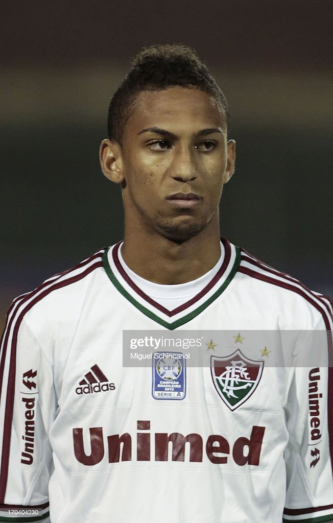 Biro-Biro of Fluminense poses before a match between Portuguesa and Fluminense as part of the Brazilian Serie A 2013 at Caninde stadium on June 12, 2013 in Sao Paulo, Brazil