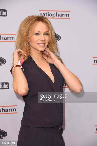 Birte Glang attends the 99FireFilmsAward at Admiralspalast on February 16 2017 in Berlin Germany