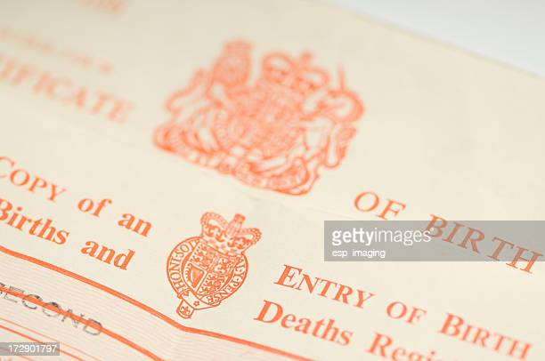 UK Birth Certificates