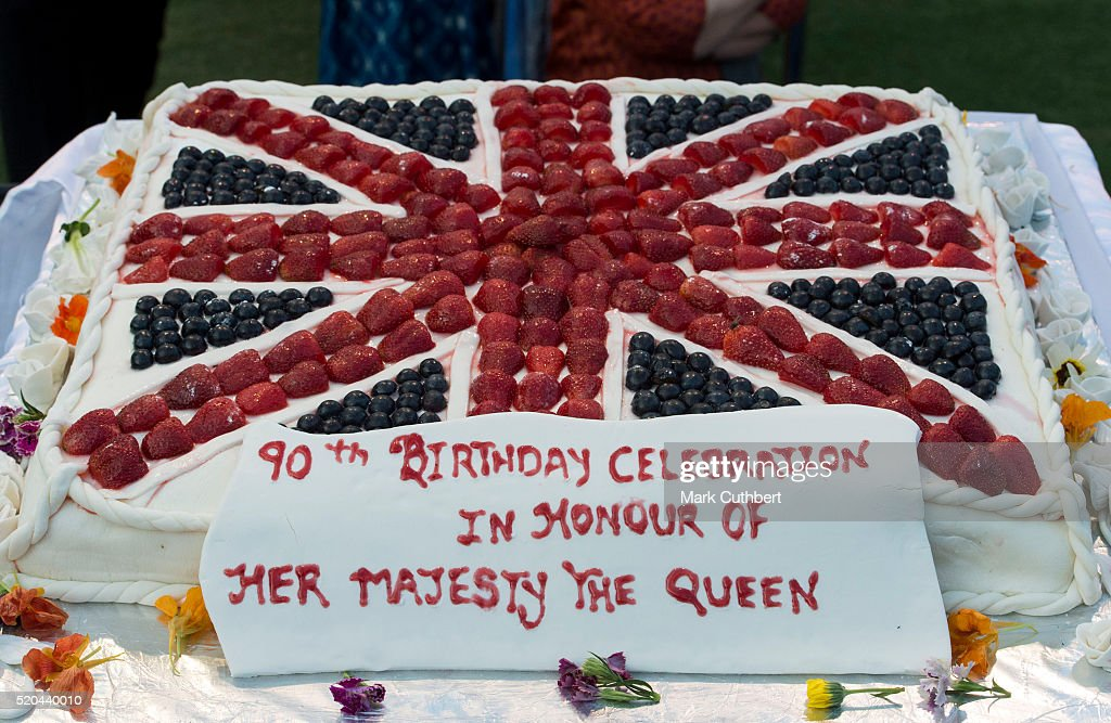 Birthday Cake For Queen Elizabeth ~ The duke duchess of cambridge visit india bhutan day getty images