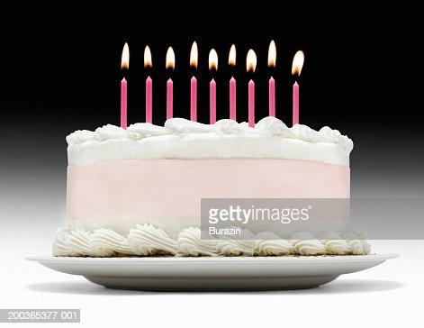Birthday cake : Stockfoto