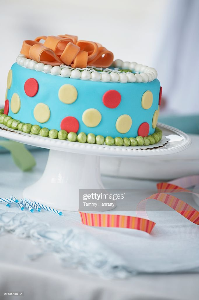 Birthday Cake : Foto de stock