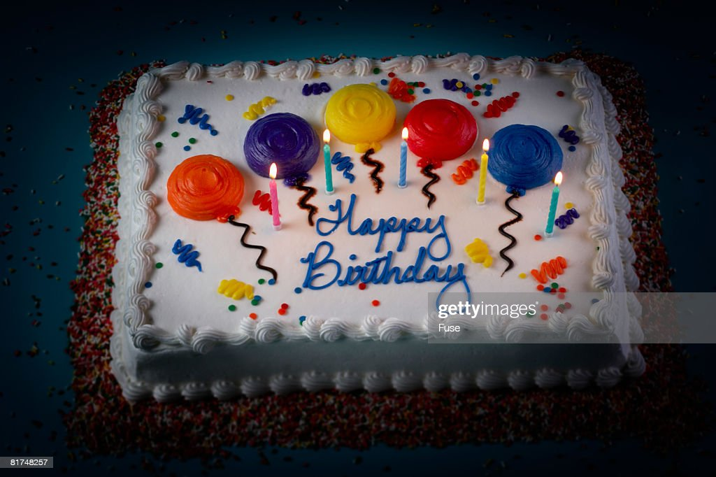 Birthday Cake : Stock Photo