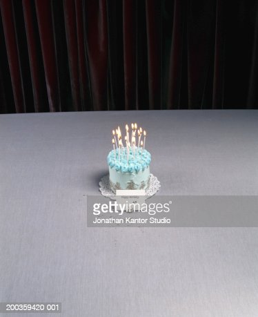 Birthday cake with pearl decorations : Stock Photo