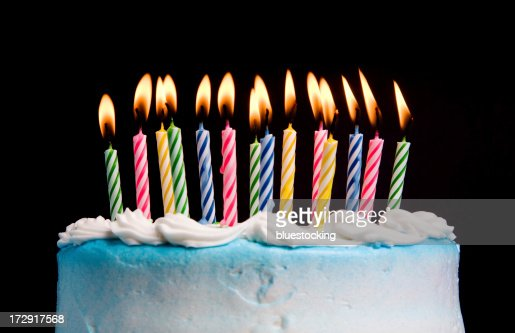 Birthday Candles : Stock Photo