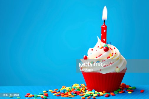 birthday cupcake stock photo thinkstock
