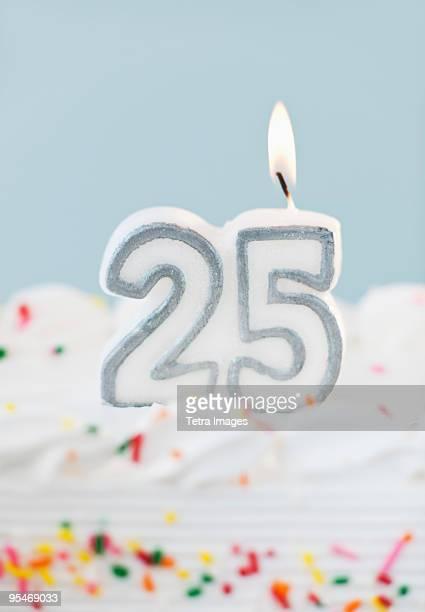 Birthday for twenty five years old
