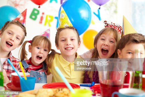 Birthday fun : Stock Photo