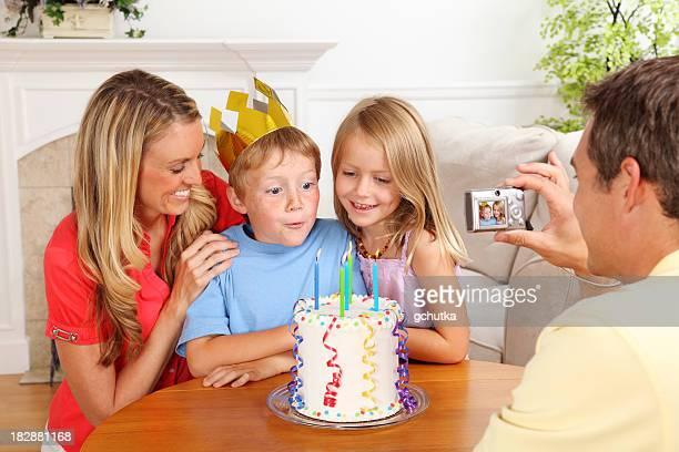 Fête d'anniversaire avec Photo