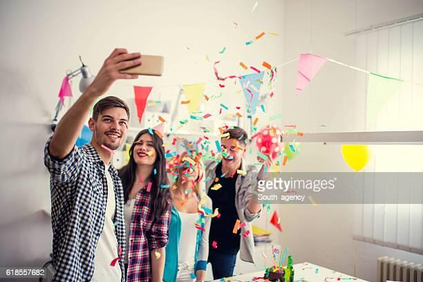 Geburtstag selfie