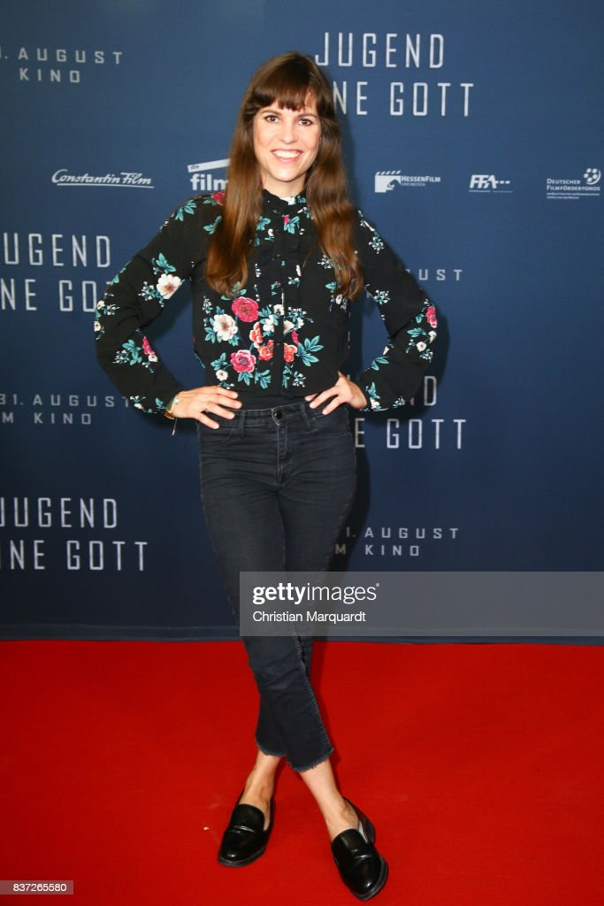 Birthe Wolter attends the premiere of 'Jugend ohne Gott' at Zoo Palast on August 22, 2017 in Berlin, Germany.