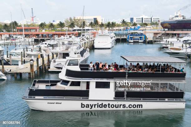 Bayside Boat Tours At Night