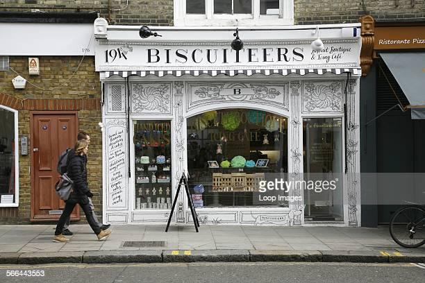 Biscuiteers cake and biscuit shop on Kensington Park Road