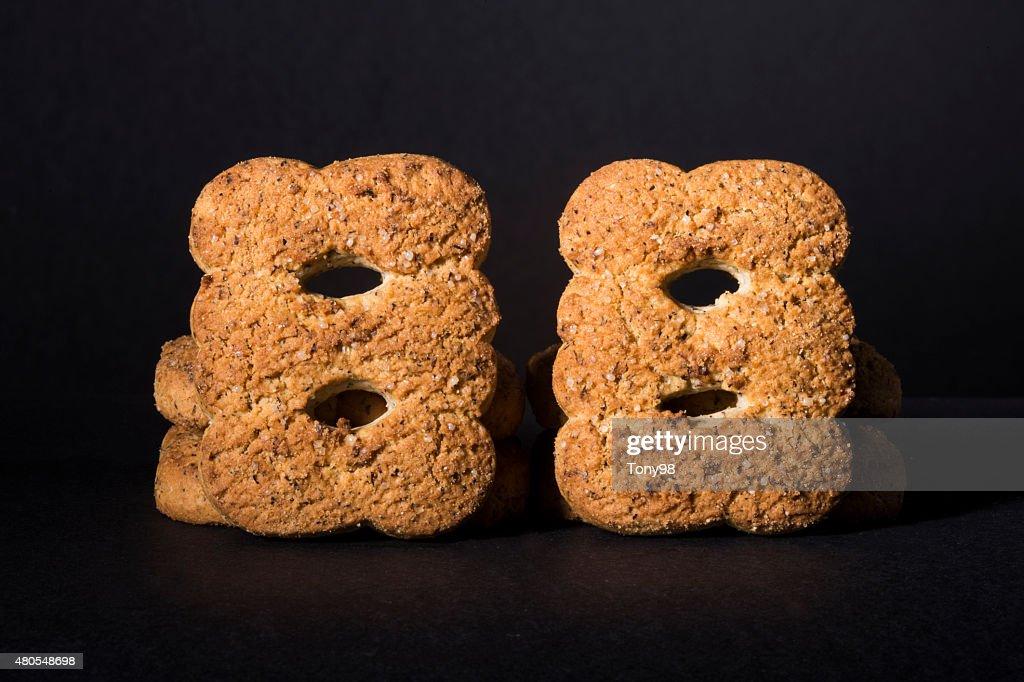 biscuits : Foto de stock