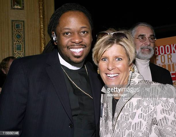 Bishop Bernard Jordan and Suze Orman during National Multiple Sclerosis Society Presents Books for a Better Life Awards with 'Today' Show CoAnchor...