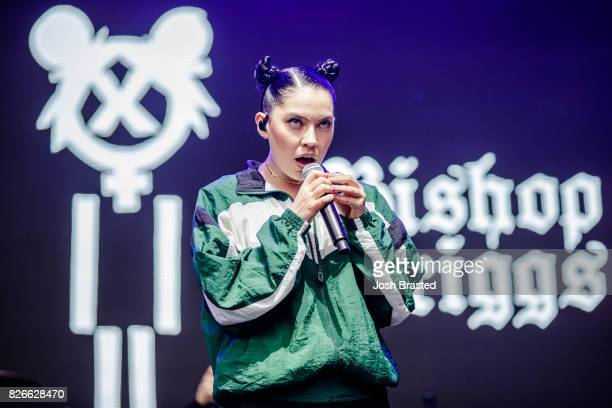 Bishop Briggs performs at Lollapalooza 2017 at Grant Park on August 4 2017 in Chicago Illinois