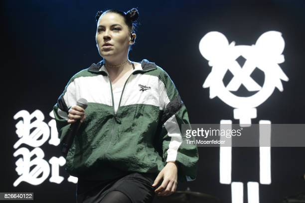 Bishop Briggs performs during Lollapalooza 2017 at Grant Park on August 4 2017 in Chicago Illinois