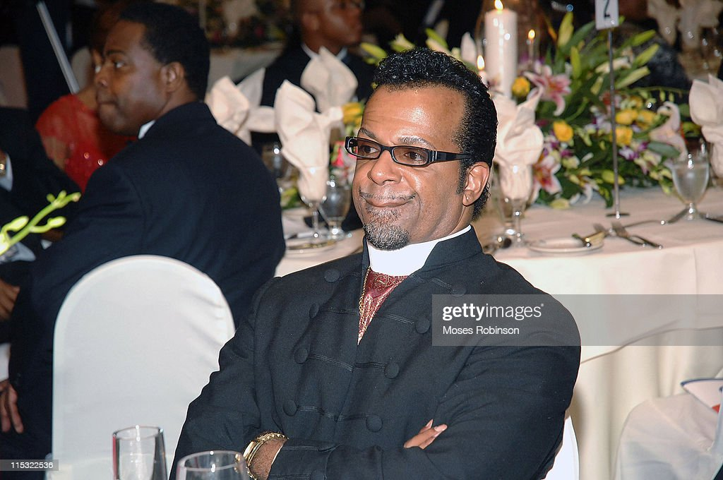 Bishop Carlton D Pearson during 2006 Salute to Greatness Awards Dinner at Wyndhamn Nassau Resort and Crystal Palace Casino in New Providence Bahamas...