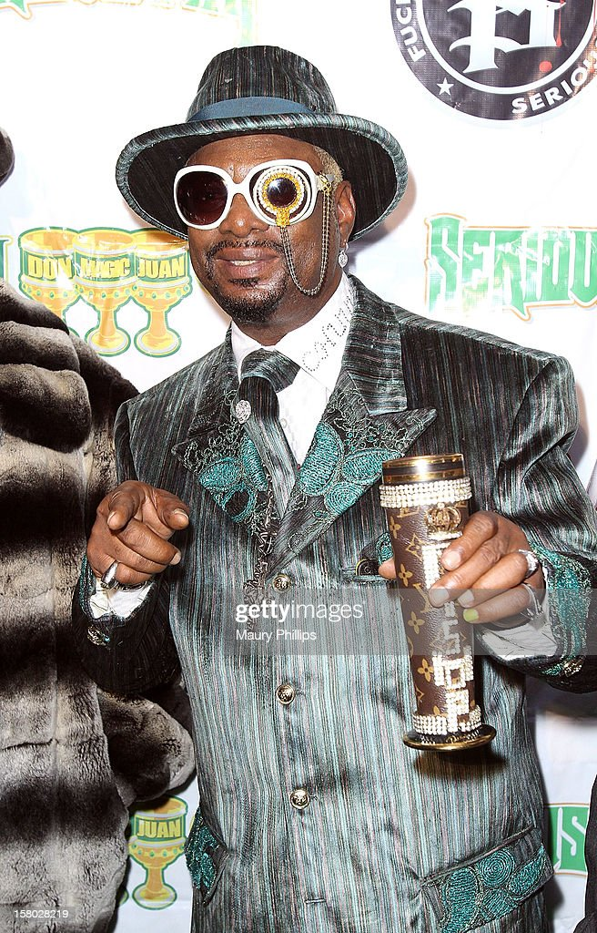 Bishop Don 'Magic' Juan attends The Official International Players Ball 2012 and birthday celebration for Arch Bishop <a gi-track='captionPersonalityLinkClicked' href=/galleries/search?phrase=Don+Magic+Juan&family=editorial&specificpeople=743720 ng-click='$event.stopPropagation()'>Don Magic Juan</a> at Key Club on December 8, 2012 in West Hollywood, California.
