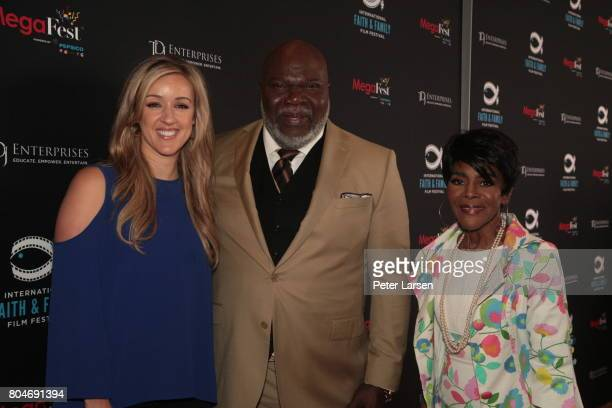Bishop TD Jakes and Cicely Tyson attend MegaFest 2017 International Faith Family Film Festival at Omni Hotel on June 30 2017 in Dallas Texas