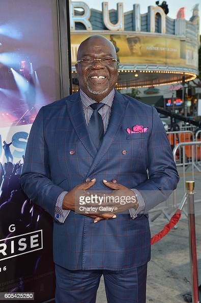 Bishop TD Jakes attends the 'Hillsong Let Hope Rise' premiere at the Westwood Village theater on September 13 2016 in Los Angeles California