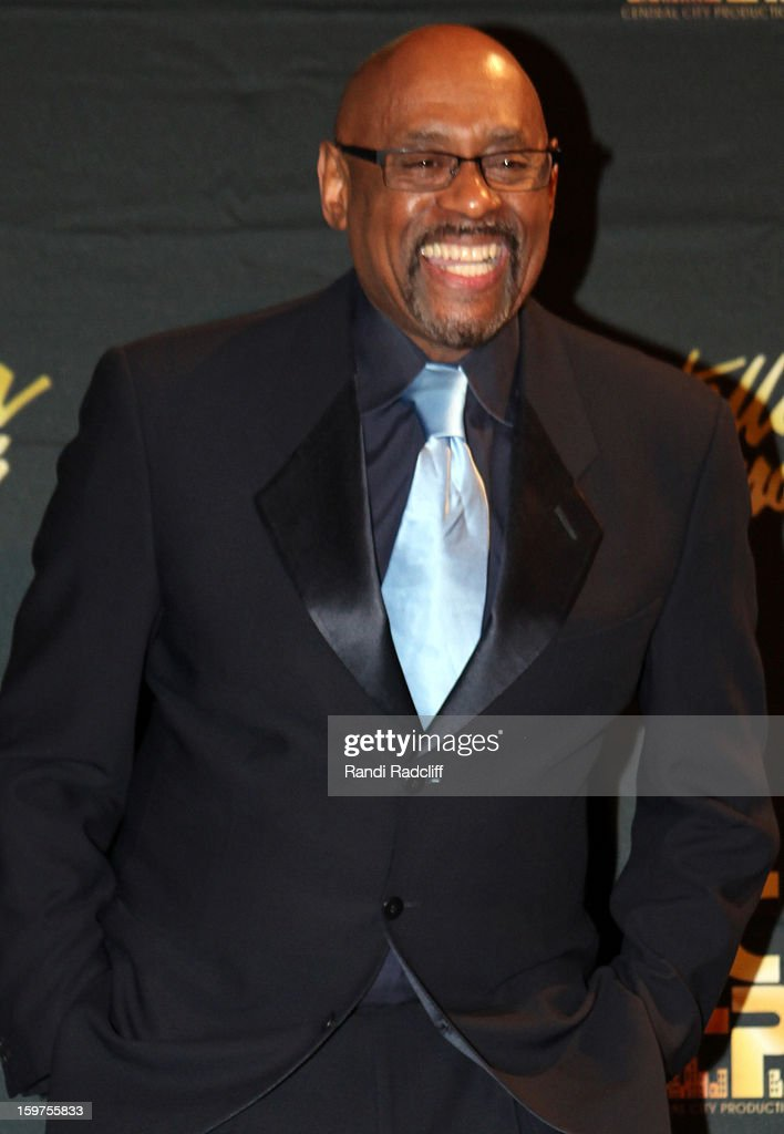 Bishop Paul Morton attends the 28th Annual Stellar Awards Press Room at Grand Ole Opry House on January 19, 2013 in Nashville, Tennessee.
