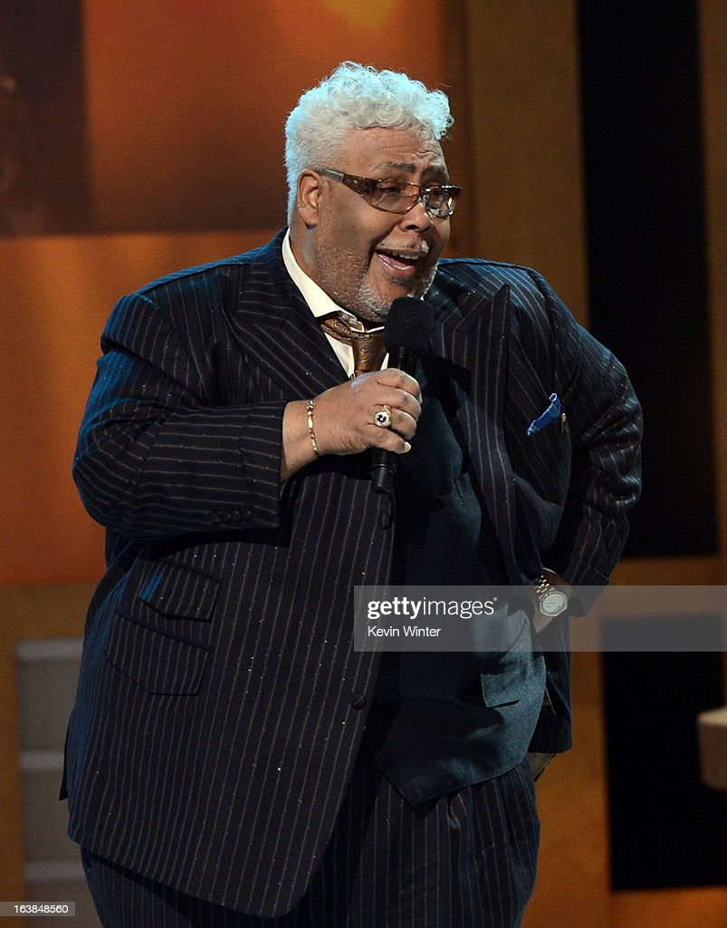 Bishop Rance Allen performs onstage during the BET Celebration of Gospel 2013 at Orpheum Theatre on March 16, 2013 in Los Angeles, California.