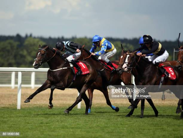 Bishop Roko ridden by James Doyle wins the GL events Owen Brown Handicap Stakes during day three of 2013 Betfair Weekend at Ascot Racecourse Berkshire