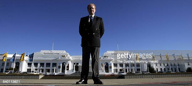 Bishop Tom Frame author of The Life and Death of Harold Holt at Old Parliament House Canberra 4 August 2005 SMH Picture by ANDREW TAYLOR